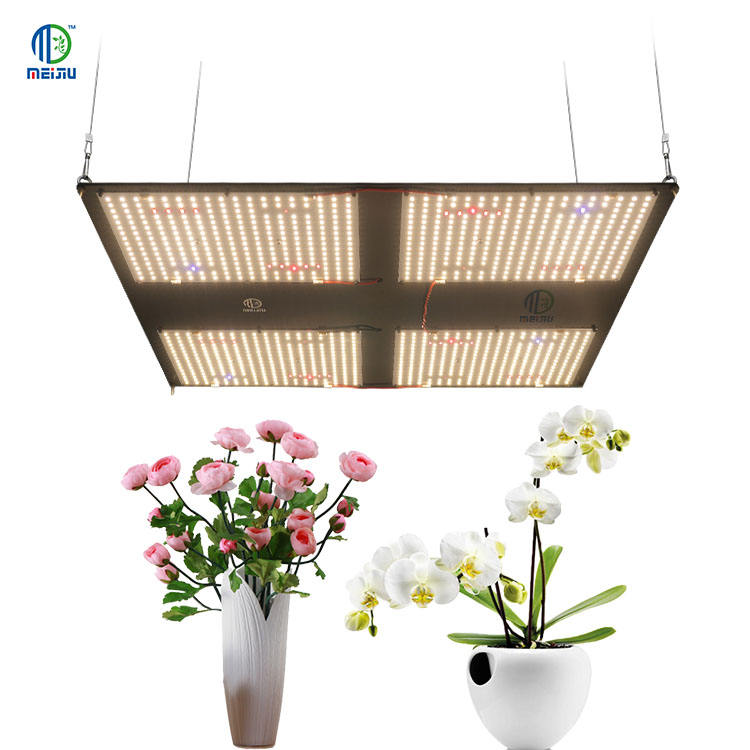 2020 Aquaponics ปลูกระบบ Meijiu 480W Cob Grow Light, meijiu LED Meijiu 480W Lm301B พร้อม IR และ UV Grow LIGHT