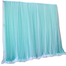 sequin ice silk white silver backdrop curtain