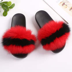 Fur Slides In Bulk New Slippers Fur Sandal Slides