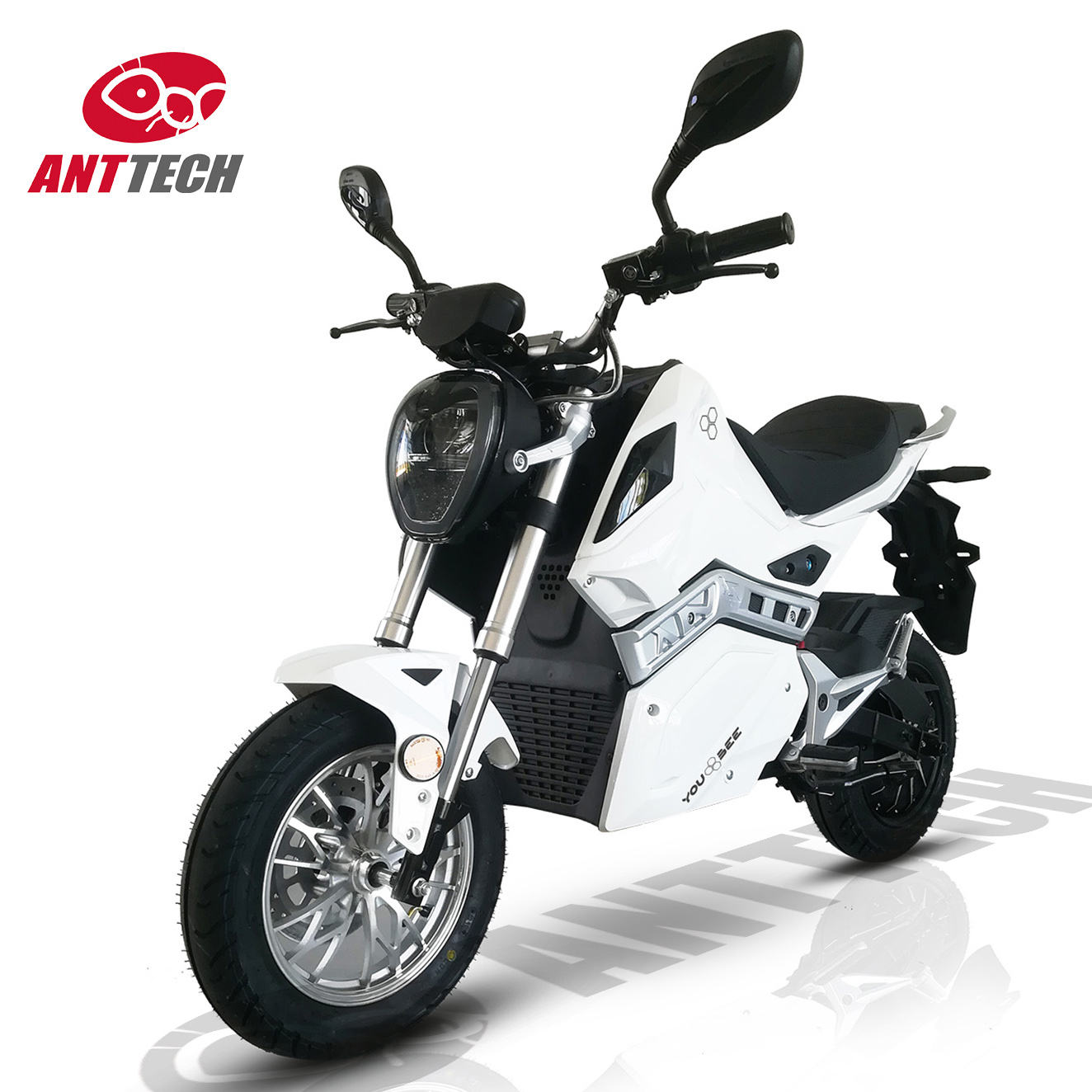 EEC fast powerful racing 2 wheel adult automatic sports electric motorcycle with 80V 40Ah 52Ah 4000W 5000W