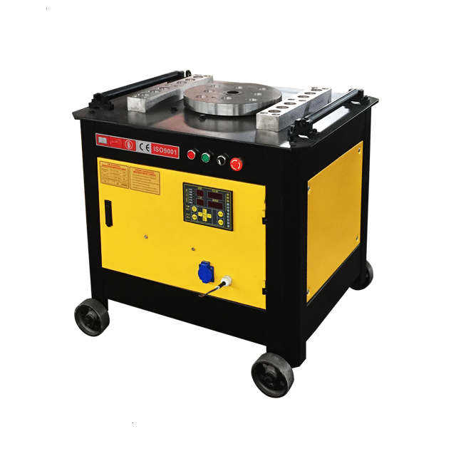 High efficiency reinforcing steel plc bar cnc automatic stirrup bending machine