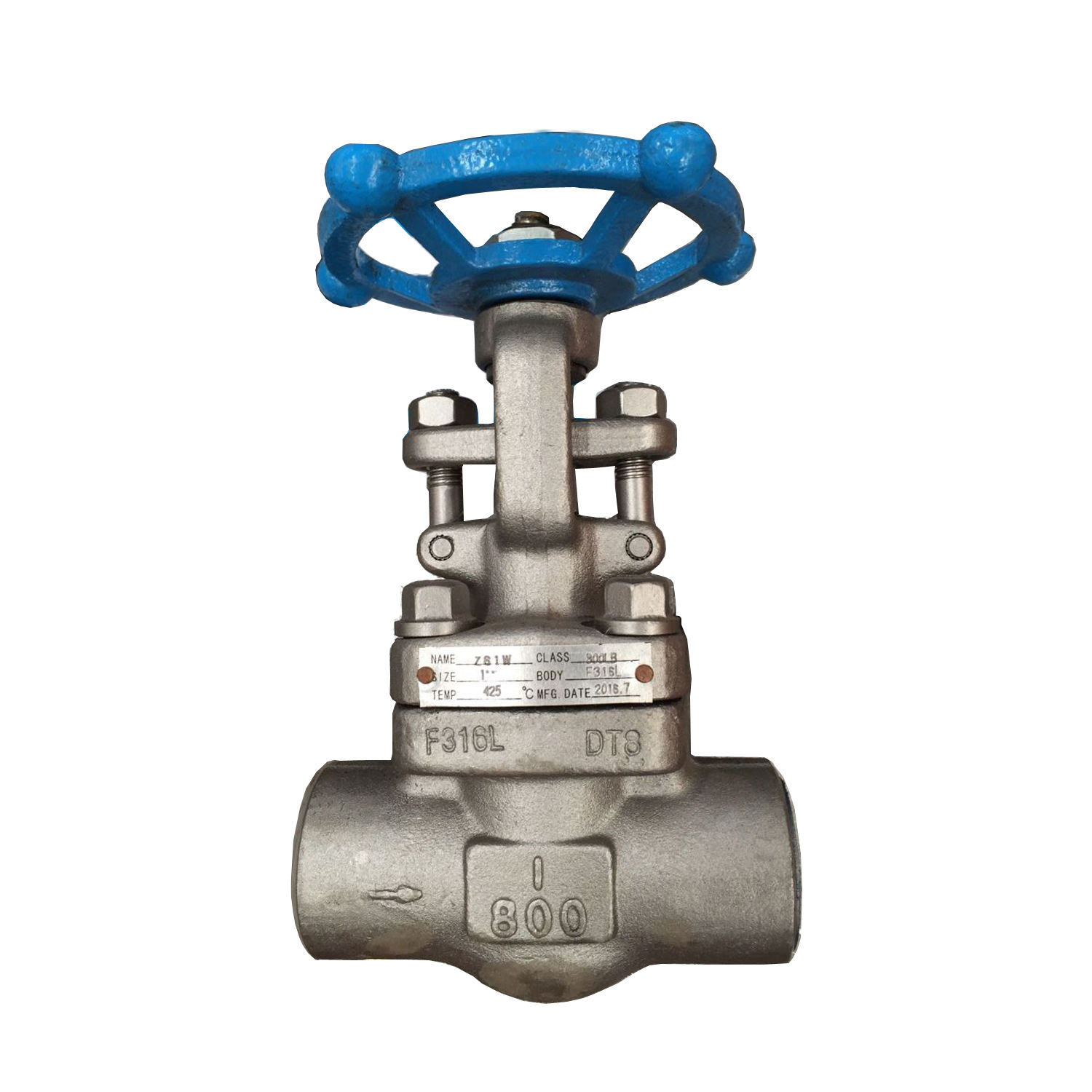 Ansi Api Roestvrij Staal Koolstofstaal Wcb Class150/300/600/900 Flens Globe Valve