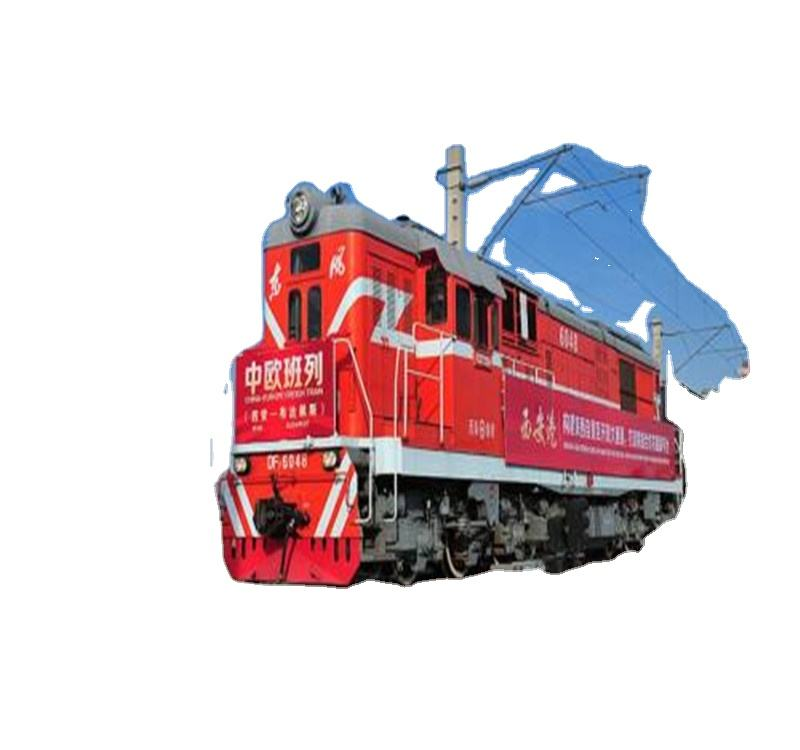 China-Uk Internationale Expediteur Railway Ddp Kan Vervoer Grote Cargo En Machines
