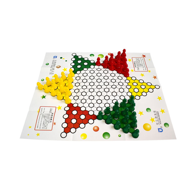 children hexagonal checkers flying chess board chinese checkers game
