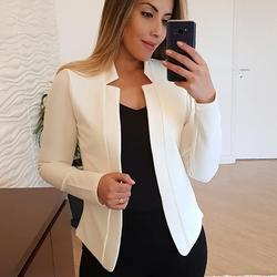 PRETTY STEPS 2020  Women Solid Plus Size Blazer Short Cardig