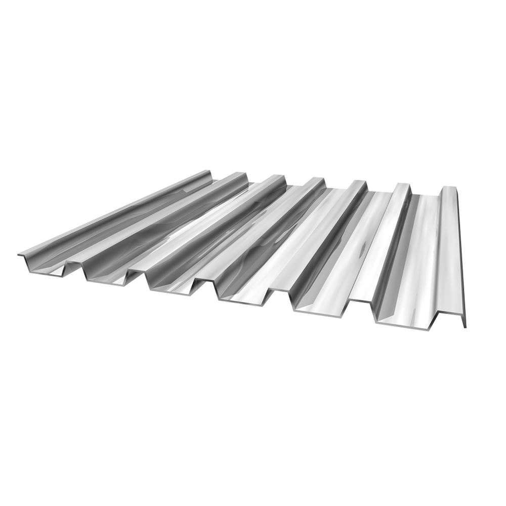 Chinese suppliers of YX35 size galvanized metal roof steel decking for concrete