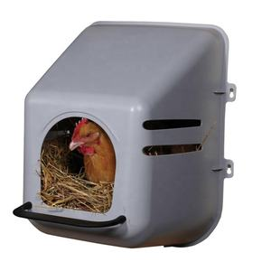Wholesale Price Farm Poultry Animal Husbandry Equipment Modern Plastic Chicken Coop Chicken Nesting Boxes/
