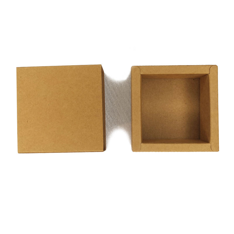 Durable good quality cheap price Brown Kraft Paper Gift Boxes for Kids Birthday Party Wedding gift pack