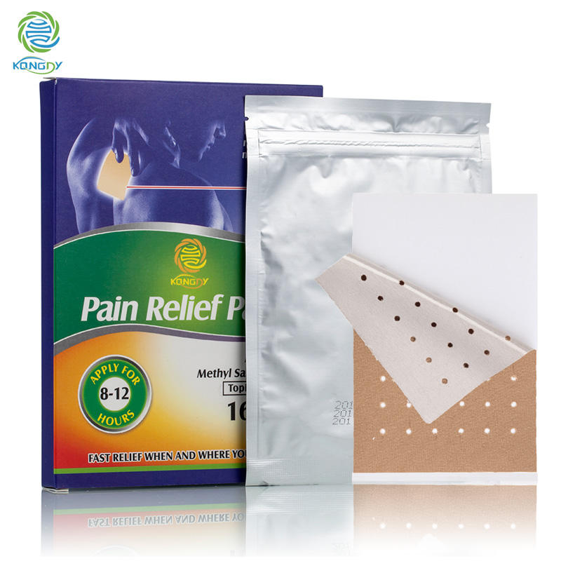 KONGDY การแพทย์จีน pain relief patch สำหรับกล้ามเนื้อและ joint pain patches