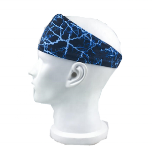 도매 custom printed logo (high) 저 (탄성 sport running sweatband 머리띠