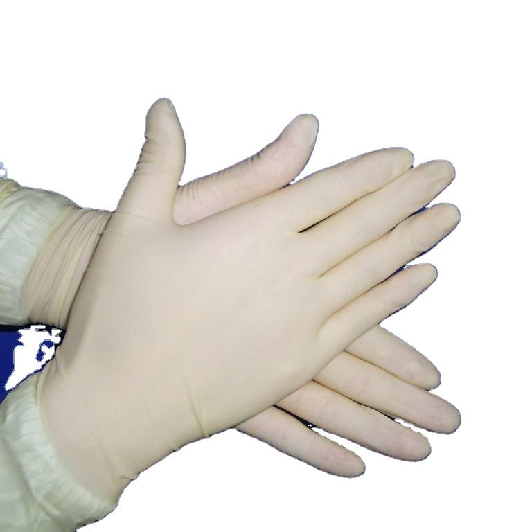 100pcs/box medical examination gloves disposable latex gloves powder free or powder