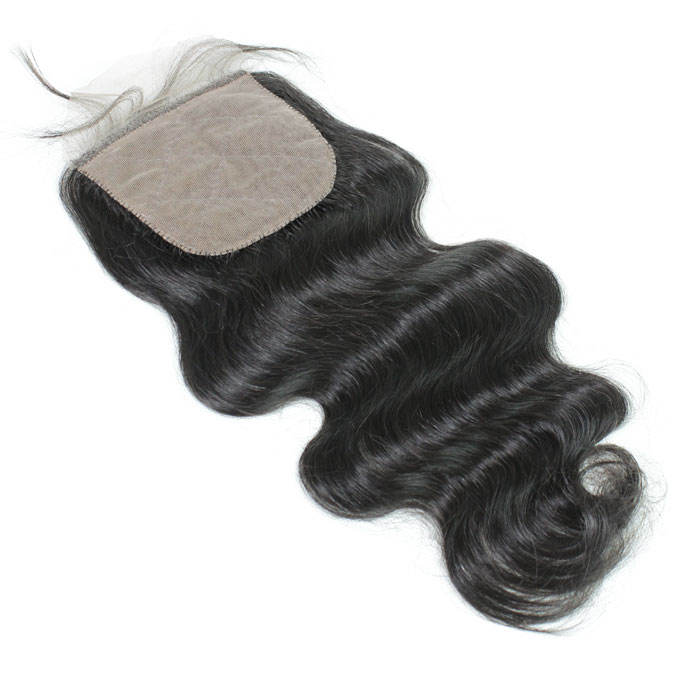Factory Direct Sale manufacter 150% Density Medium Brown aligned human hair wigs body wave 4X4
