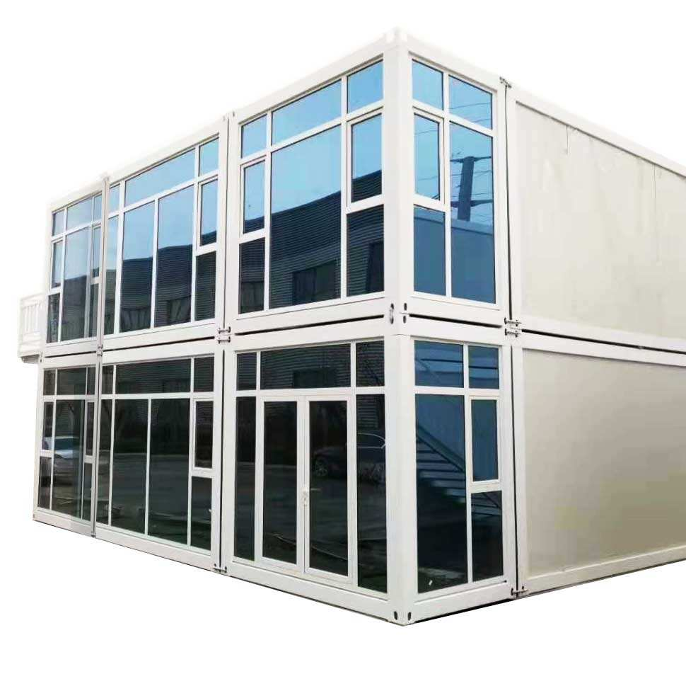 China Low Cost High Construction Efficiency Prefab Container House Designs Fully Furnish Prefab Container Homes