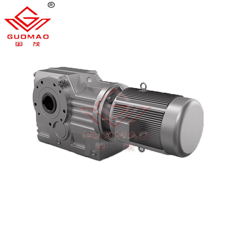 K67 double helical gear design ratio 1/60 gearbox for 2.2 kw geared motor