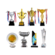 Award China Manufacturer Custom World Cup Trophy Football Soccer Basketball Sport Customized Crystal Metal Gold Silver Award Trophies