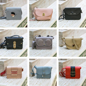 Trendy Women Handbag Crossbody Purses Women Ladies Hand Bag Casual OL Shoulder Sling Bag Mini Leather Bag