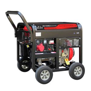 Patent good quality single cylinder engine portable 7.5KW diesel generator dg11000e