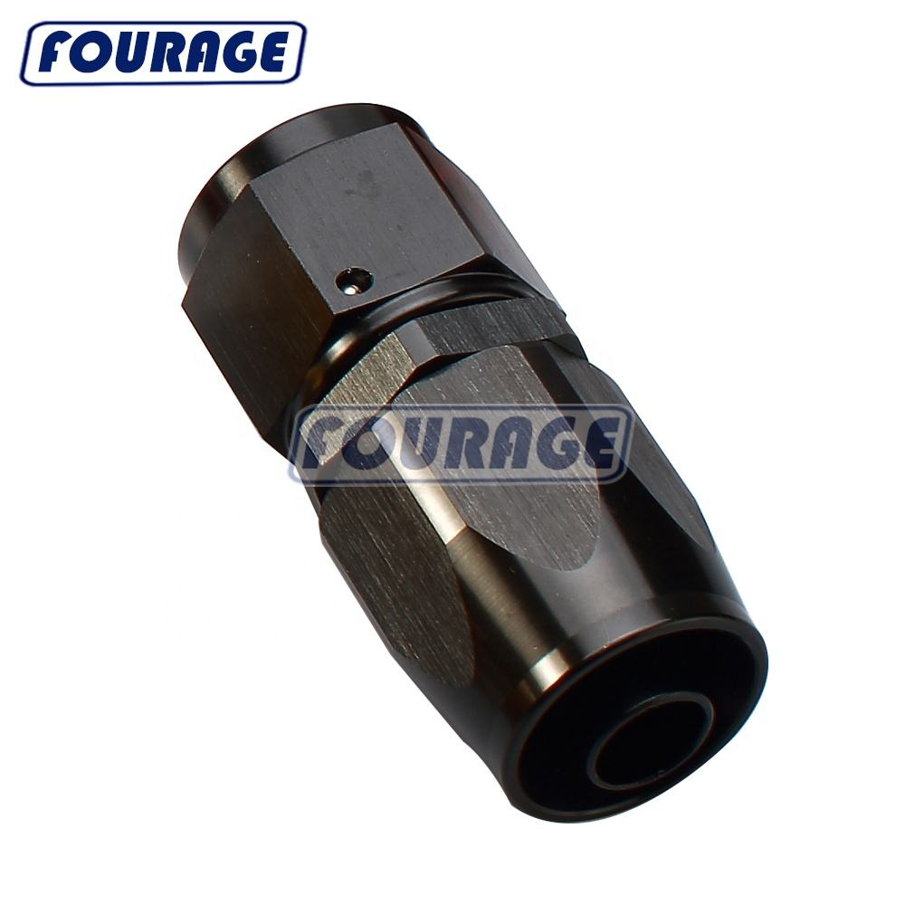 Universal Car Racing Parts -6 AN AN6 Aluminum Fuel Line Swivel AN Hose End Fittings
