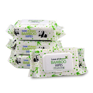 Dermatologist tested, Perfume free, Hypoallergenic bamboo wipes