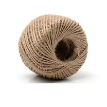 Cheapest Fashion 100% Natural 3 Ply Jute Hemp Twine For Hangtag