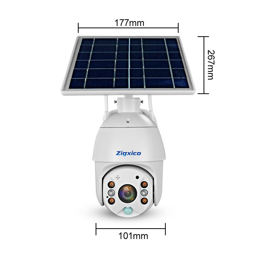 Solar Panel WIFI Camera 1080P HD Wire-Free Battery IP Camera Outdoor IP67 WaterProof 2MP Security CCTV Video PIR Two Way Audio