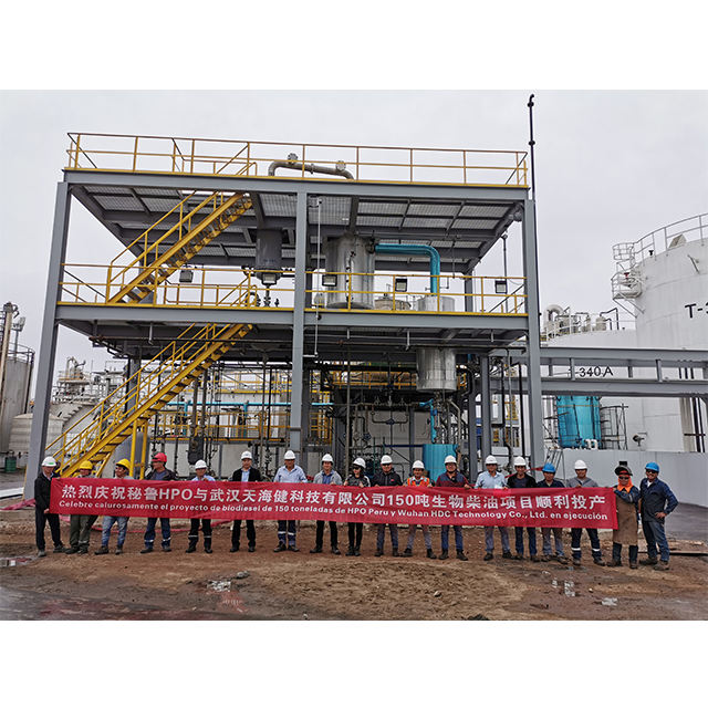 used oil refining biodiesel production plant glycerol production line