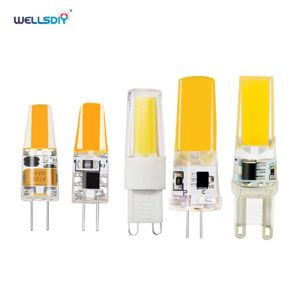 LED G4 G9 Mini Lamp Bulb AC DC 12V 220V 10W 20W 35W 50W LED Lighting Lights Replace Halogen Spotlight Chandelier
