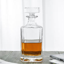 750ml Lead Free Crystal Glass Whiskey Decanter Whikey Bourbon Decanter