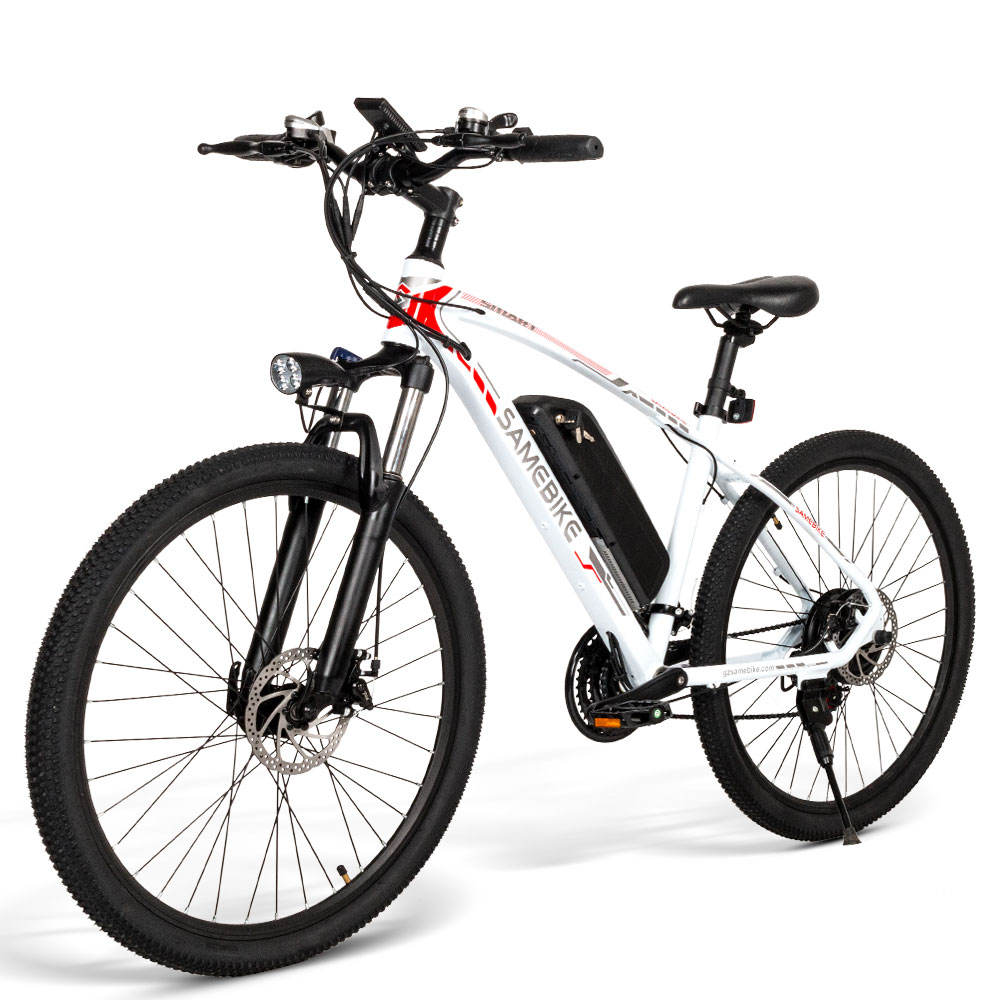 26 inch mountain electric bike 48V 350W ebike lithium battery electric bicycle