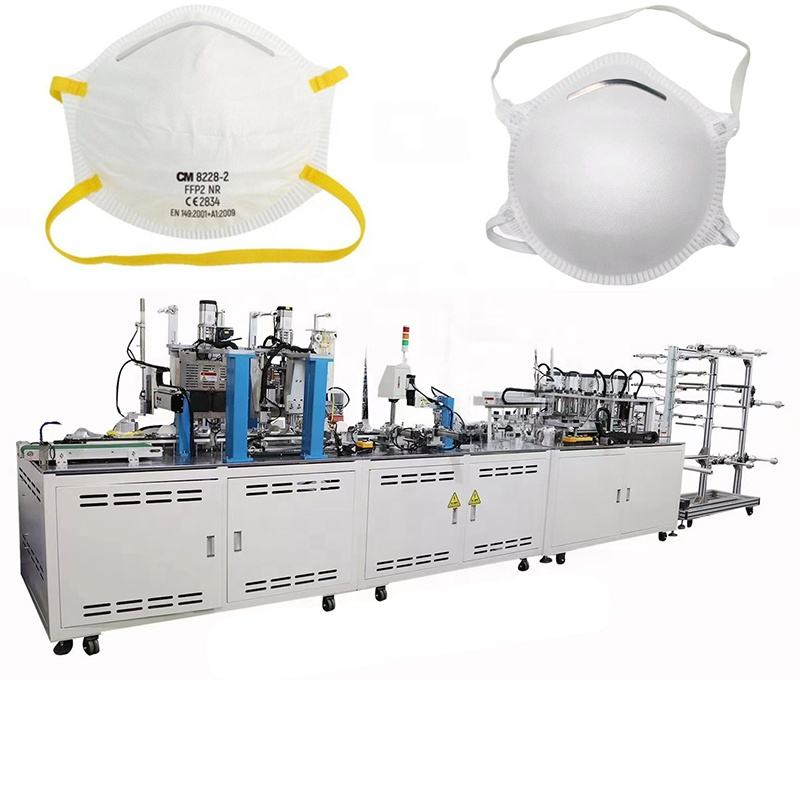 High quality semi automatic cup mask machine