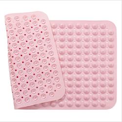 Non Slip Shower Bath Mat with Massage Style Foot Scrub Anti Slip PVC Bath Mat