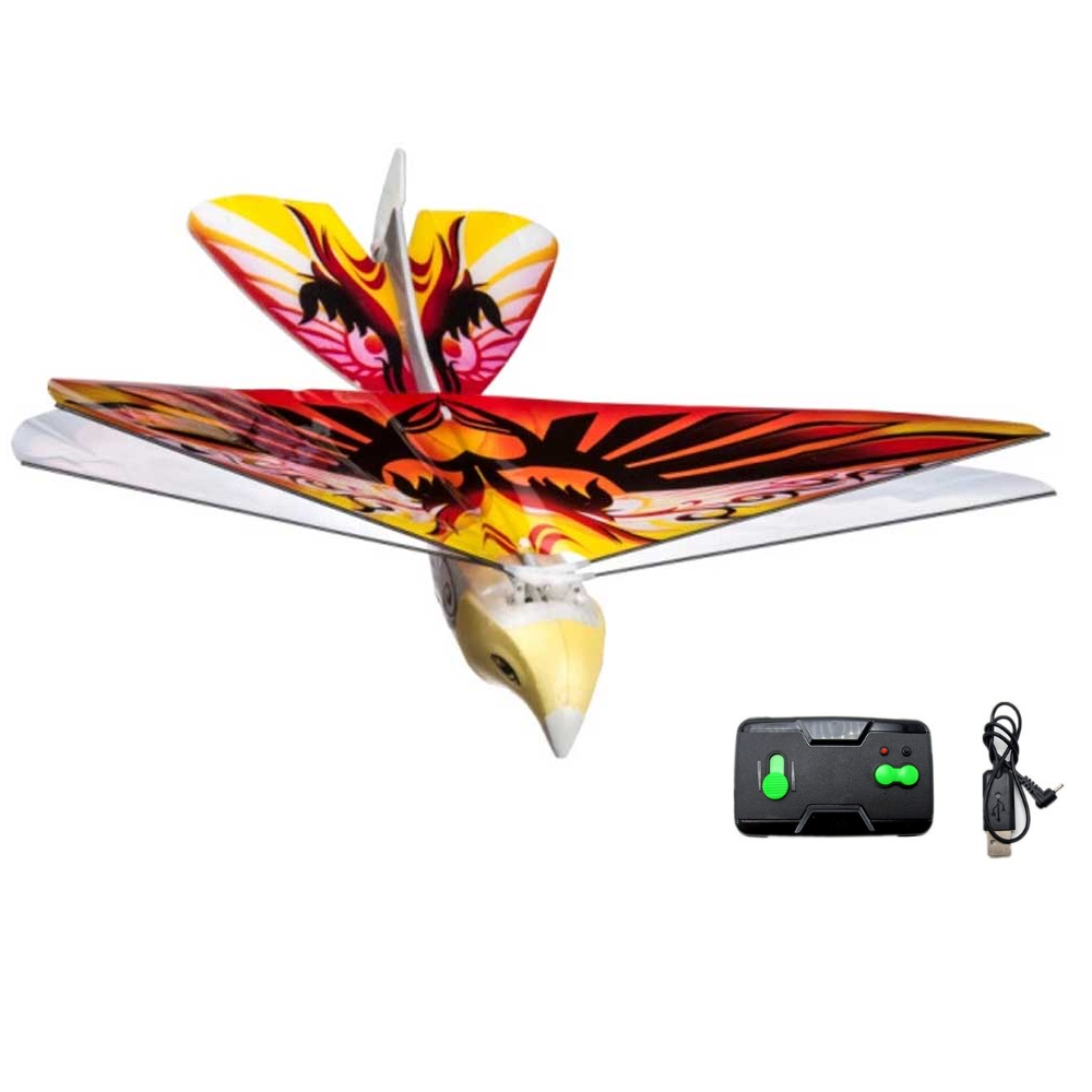 Creative Flying Rc Bionic Bird Rc Toys 2.4グラムHz Remote Control Flying Birds With Rechargeable Battery