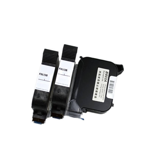 high quality black water based solvent ink cartridge for sojet anser inkjet printer