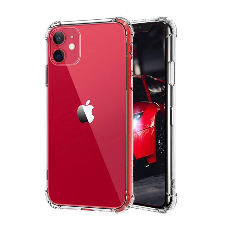 For Iphone 11 Clear Case,Thin Shockproof Transparent Cell Mobile Back Cover Bumper Phone Case For Iphone 11 Pro Max Coque Fundas