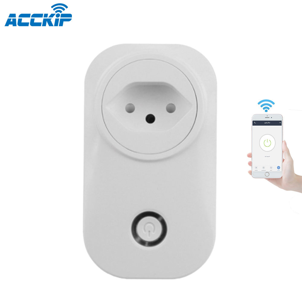 ANPU Switzerland WiFi Smart Plug Wifi Connect Smart Socket Univers Travel Adapt Googl Home Power Strip Tuya Smart Outlet