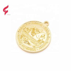 OEM/ODM jewelry charm pendants gold logo tag custom croc charms engraved metal plates pendant for jewelry