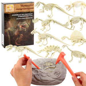 New 9 style Eco-friendly Grabber Excavation kit education Toy Set China supplier OEM Educational dinosaur fossil Kids Toys
