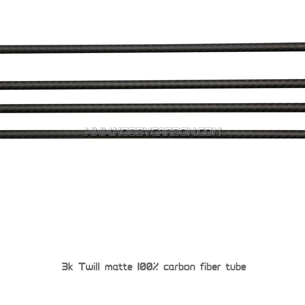 Neu Durchmesser 1 Sich 8mm 3K Carbon Faser Stange Auswahl Größe