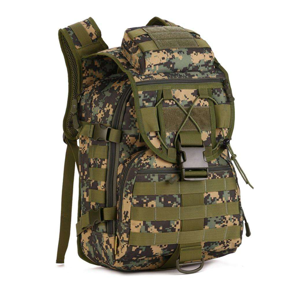 Tactical Military Backpack Gear 600D Nylon Sport Outdoor Assault Pack Rucksack for Hunting Camping DYT-033 Green