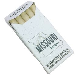Most Popular made up of 100% Hemp Lil Dixies 100% Hemp Pre Rolls