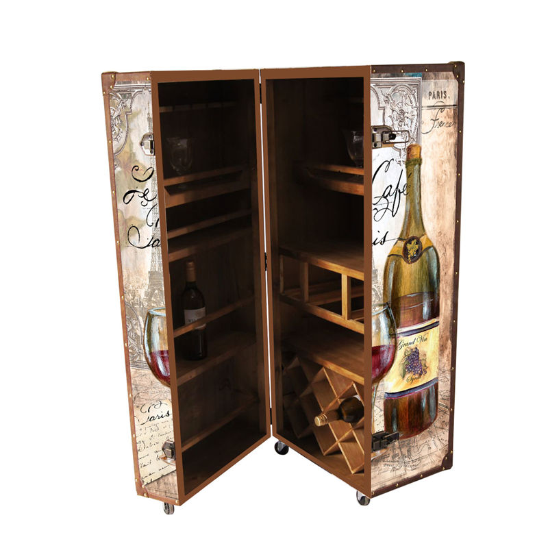 House Decoration Furniture and Bar Use Wooden Wine Cabinet