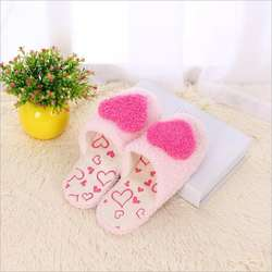 Women's warm home slippers new light and comfortable women's thickened wool slippers in winter 2020