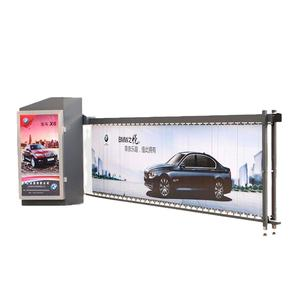 Zonnepaneel Smart Security Oplossingen Outdoor Boom Parking Controle Gate Automatische Ad Barrière