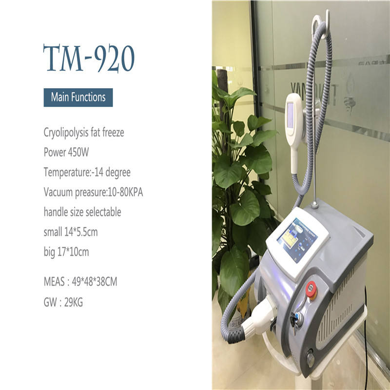 Professional Portable Cryolipolysis Fat Freeze Machinery Losing Weight Beauty Equipment For Body Slimming Fat Reduction