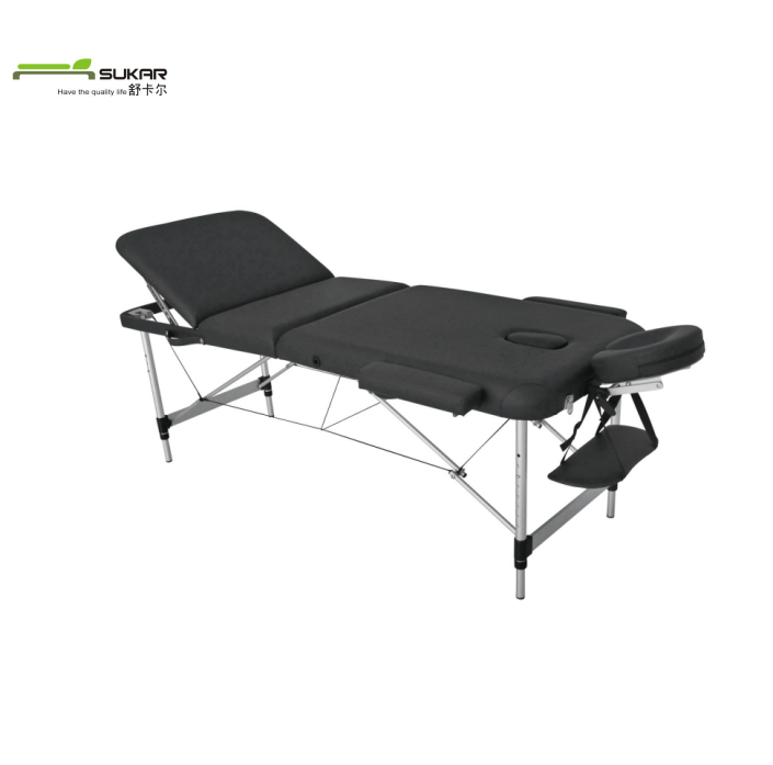 Top Selling Lightweight Aluminium massage bed/Portable Metal frame massage table