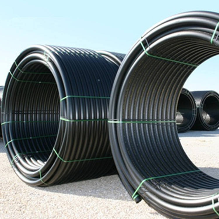 Polyethylene Pipes 1 inch Black PE Tube HDPE Roll Pipe for Water Supply