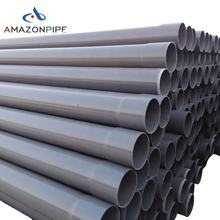 China factory pvc tube plastic drainage water pipe