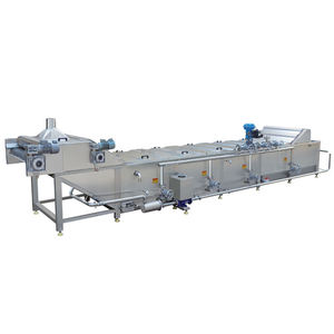Continuous Tea Leaf/Vegetable/Flower Blanching Machine