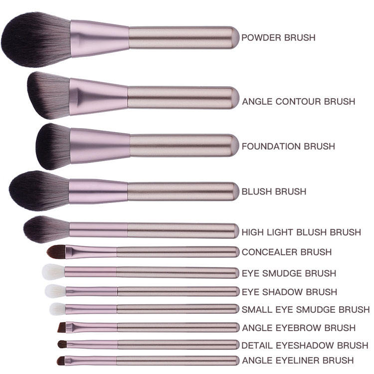 2019 High Quality Popular Factory Wholesale Price Wooden Custom Logo Private Label Fashional Makeup Brush Set Professional
