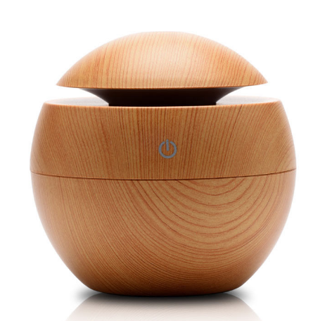 Amazon Wood Aromatherapy Creative Essential Oil Aroma Diffuser Household 130ml Humidifier